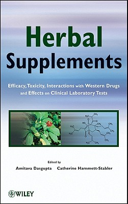 Herbal Supplements By Dasgupta, Amitava/ Hammett-stabler, Catherine A.